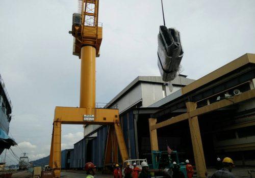 KD Mahawangsa Engine 7